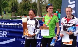 Birgit Jacobi gewinnt Bike & Run