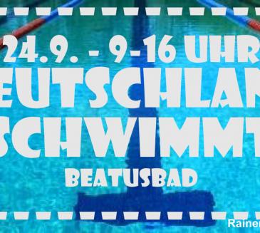 Deutschlandweiter Aktionstag Deutschland schwimmt – auch in Koblenz