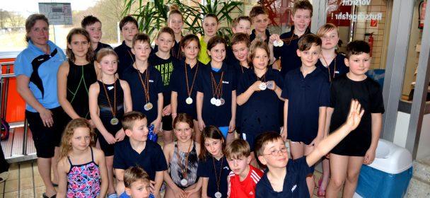Poseidonnachwuchs beim 13. Wirgeser Schwimmfest erfolgreich