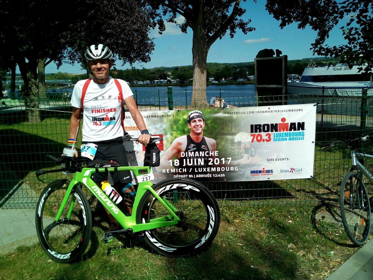 Ironman 70.3 in Luxemburg